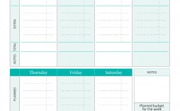 001 Striking Simple Weekly Budget Template Idea  Personal Google Sheet Planner Excel Uk