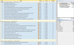 001 Striking Software Project Transition Plan Sample Example  Template Excel
