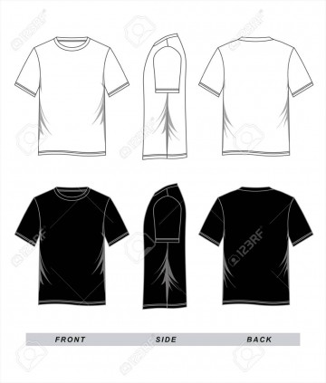 001 Striking T Shirt Template Vector Image  Illustrator Design Free Download Ai360