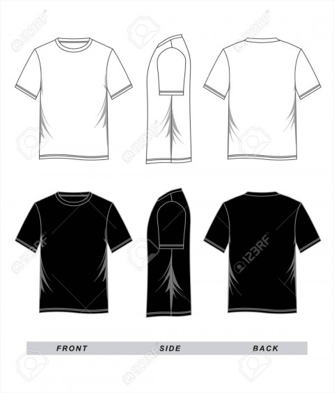 001 Striking T Shirt Template Vector Image  Illustrator Design Free Download Ai480