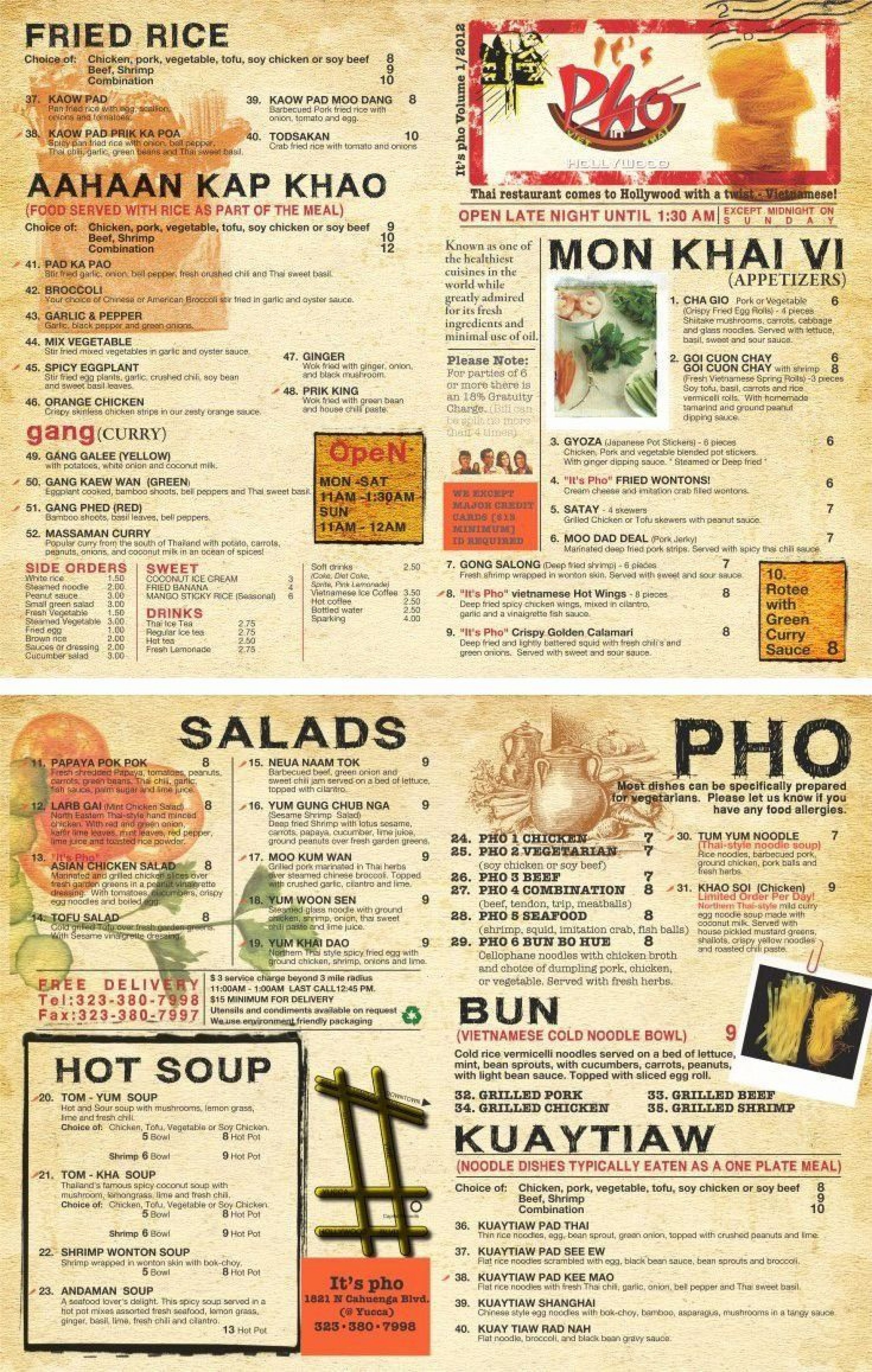 001 Striking To Go Menu Template Highest Clarity  Tri Fold Word Restaurant Free1920