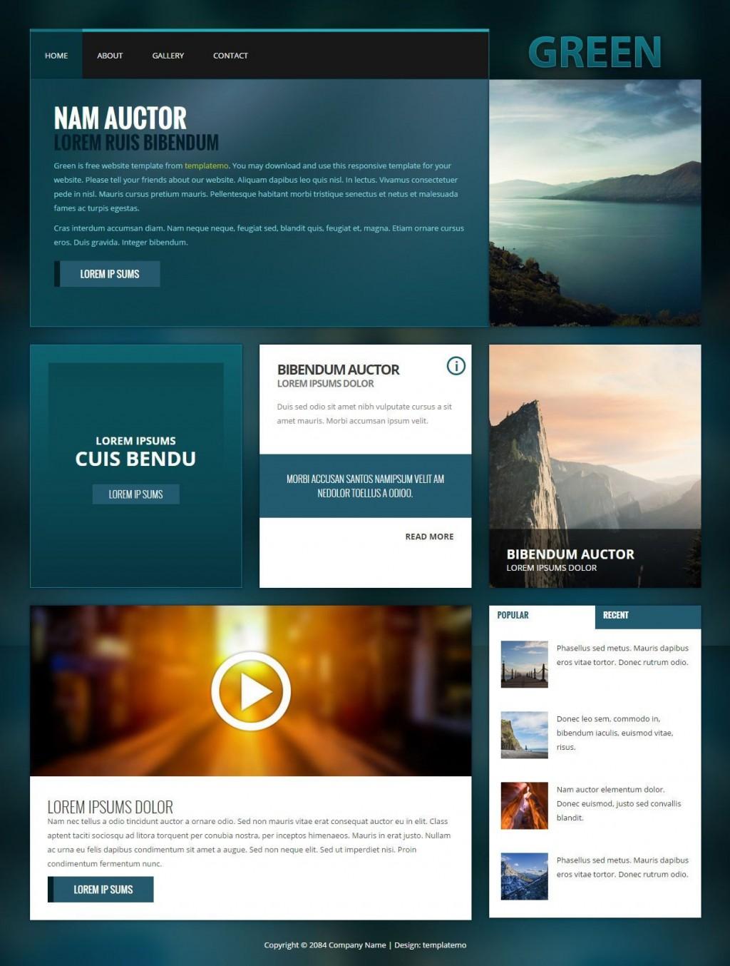 001 Striking Web Page Design Template Cs Image  CssLarge