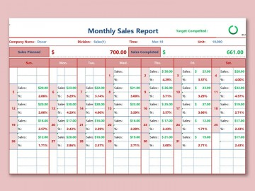 001 Striking Weekly Sale Report Template Photo  Free Download Call Example Xl360