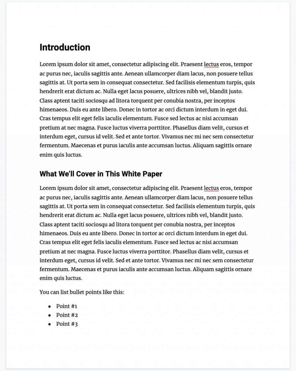 001 Striking White Paper Outline Template Highest Quality  FreeLarge