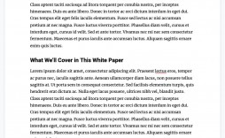001 Striking White Paper Outline Template Highest Quality  Free