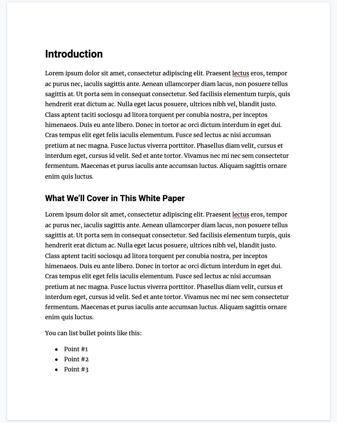 001 Striking White Paper Outline Template Highest Quality  FreeFull