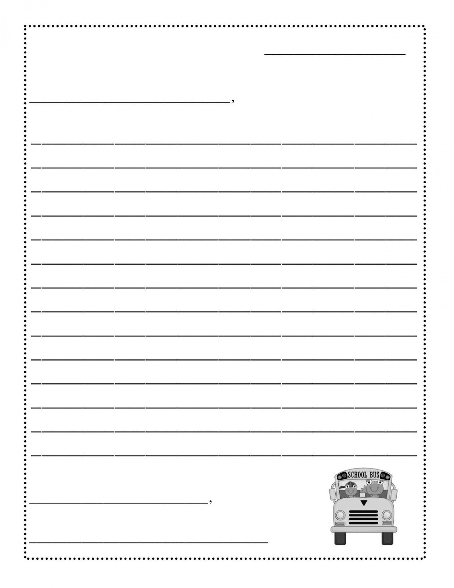 001 Stunning Free Letter Writing Template For Student Concept  StudentsFull