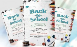 001 Stunning Free School Event Flyer Template Example  Templates
