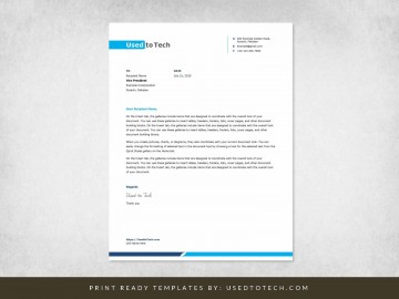001 Stunning Letterhead Example Free Download Design  Format In Word For Company Pdf360
