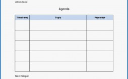 001 Stunning Meeting Agenda Template Free Picture  Microsoft Word Board