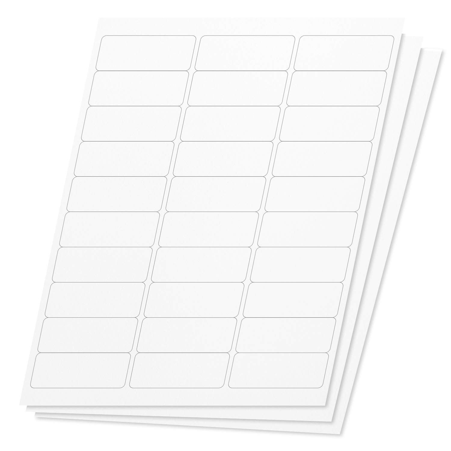 001 Stunning Microsoft Word Addres Label Template 30 Per Sheet Concept Full