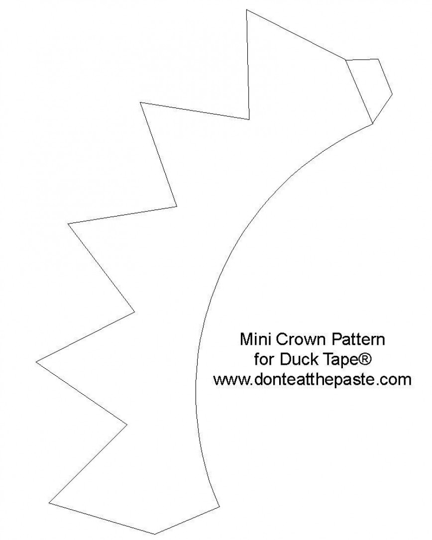 001 Stunning Queen Of Heart Crown Printable High Resolution  Template