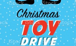 001 Stunning Toy Drive Flyer Template Photo  Holiday Download Free Word