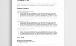 001 Stunning Word Template For Resume Highest Clarity  Resumes M Free Best Document Download