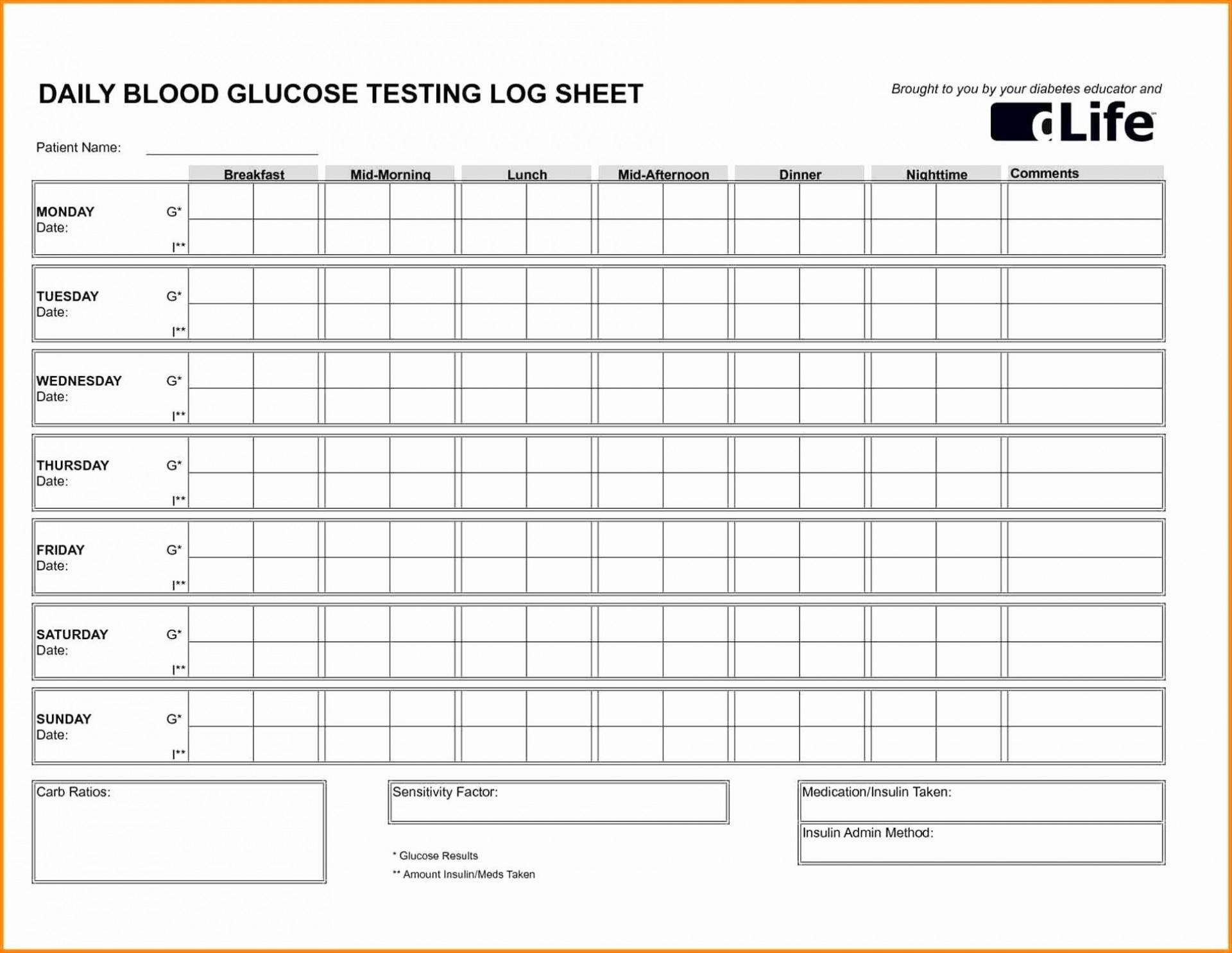 001 Stupendou Blood Pressure Log Template Inspiration  Printable Free Sheet Chart1920