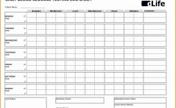 001 Stupendou Blood Pressure Log Template Inspiration  Printable Free Sheet Chart