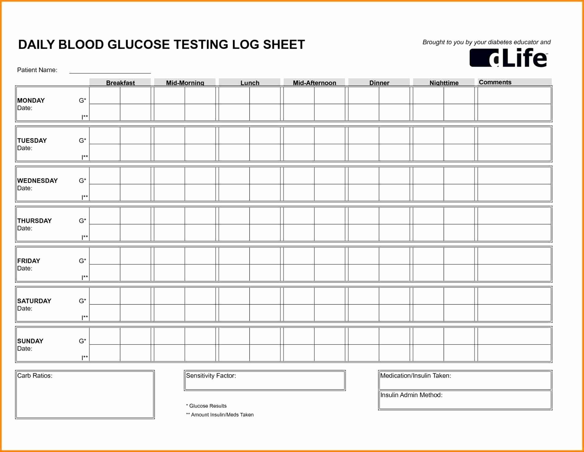001 Stupendou Blood Pressure Log Template Inspiration  Printable Free Sheet ChartFull