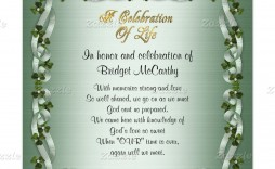 001 Stupendou Celebration Of Life Invite Template Free Highest Clarity  Invitation Download