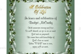 001 Stupendou Celebration Of Life Invite Template Free Highest Clarity  Invitation Download