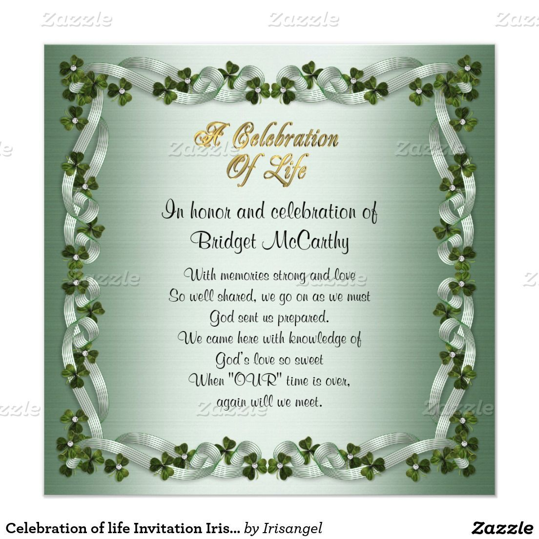 001 Stupendou Celebration Of Life Invite Template Free Highest Clarity  Invitation DownloadFull