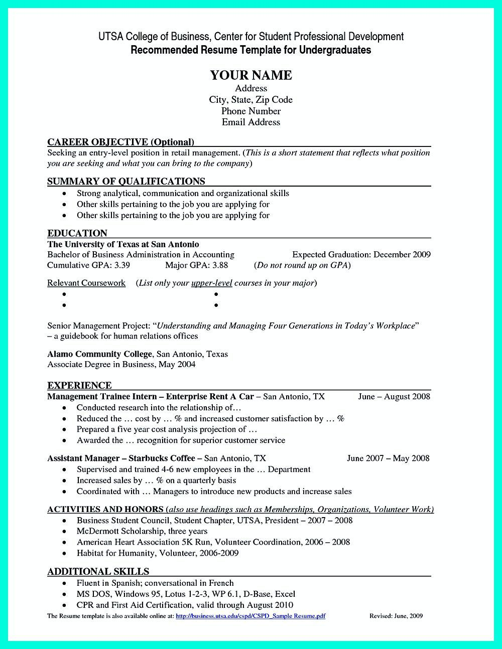 001 Stupendou Curriculum Vitae Template Student High Resolution  Sample College Undergraduate Example For Research PaperFull