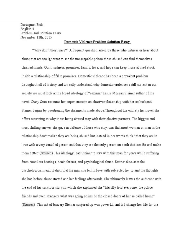 001 Stupendou Domestic Violence Essay Idea  Persuasive Topic QuestionLarge
