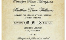 001 Stupendou Formal Wedding Invitation Template Highest Quality  Templates Email Format Wording Free