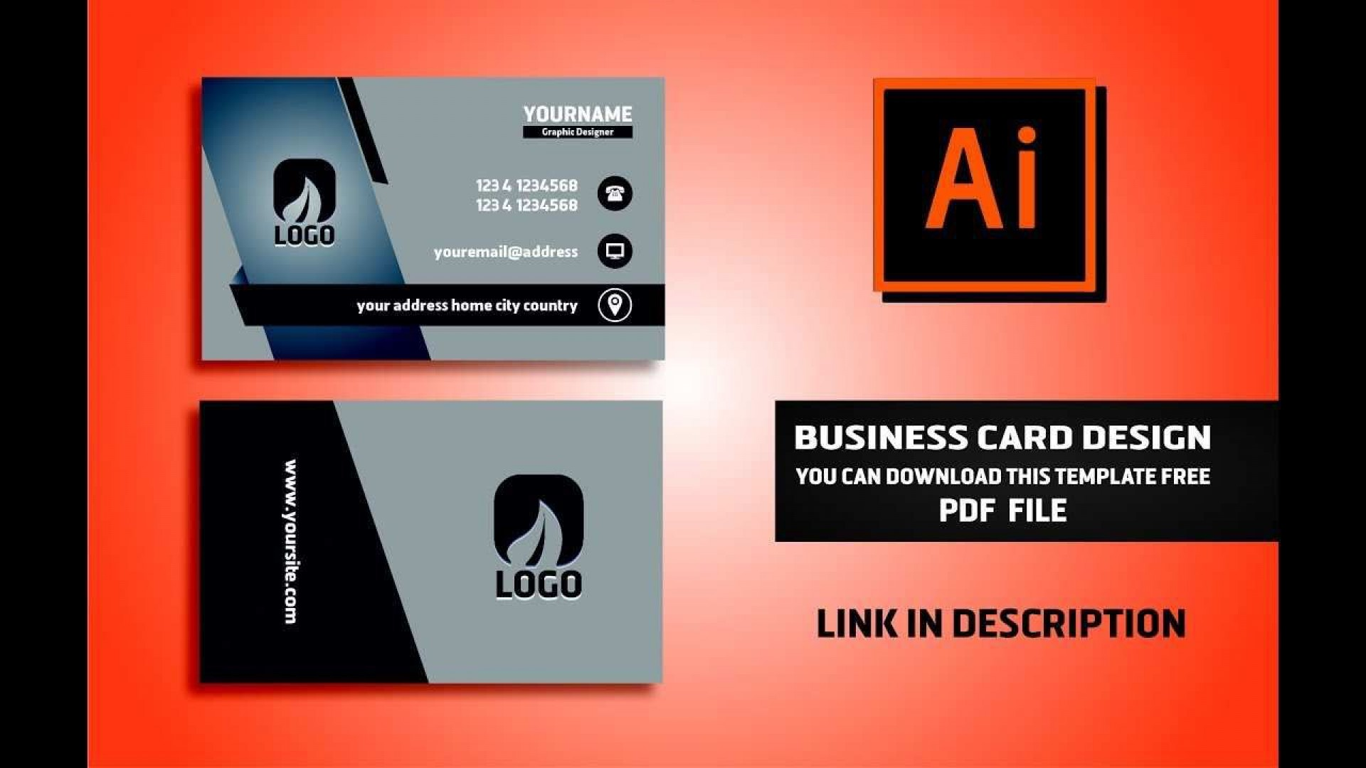 001 Stupendou Free Download Busines Card Template Design  Templates Psd File M Word1920