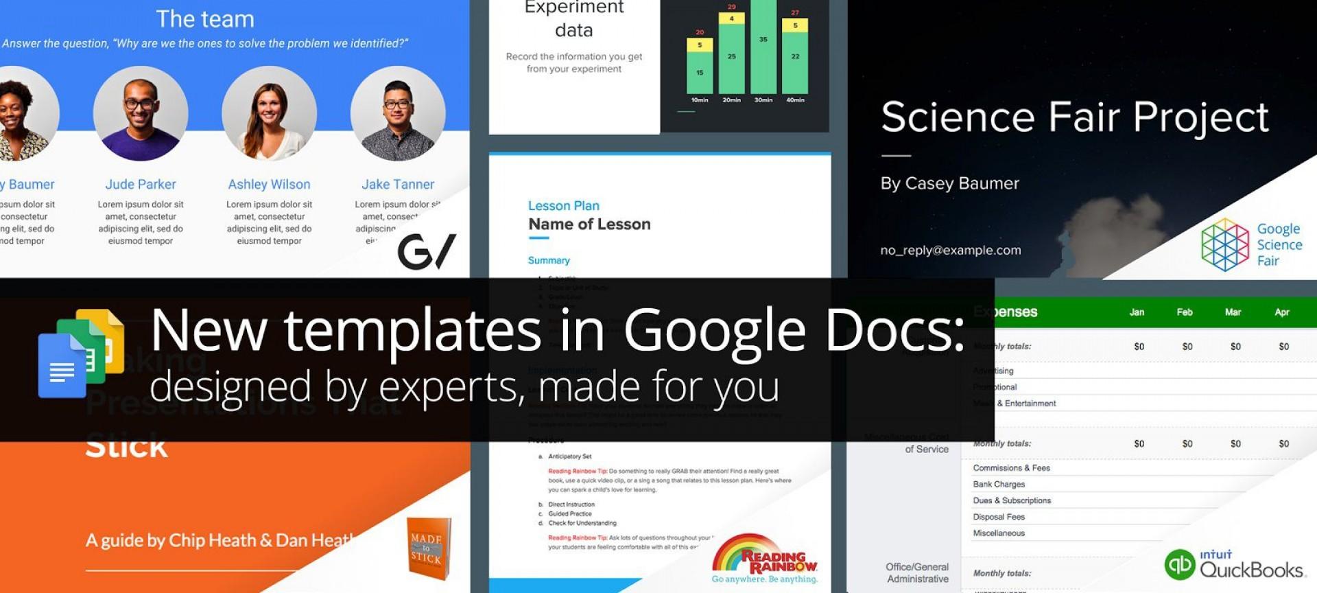 001 Stupendou Free Google Doc Template Image  Templates Drive Slide For Teacher Report1920