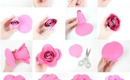 001 Stupendou Free Printable Diy Paper Flower Template Image  Templates