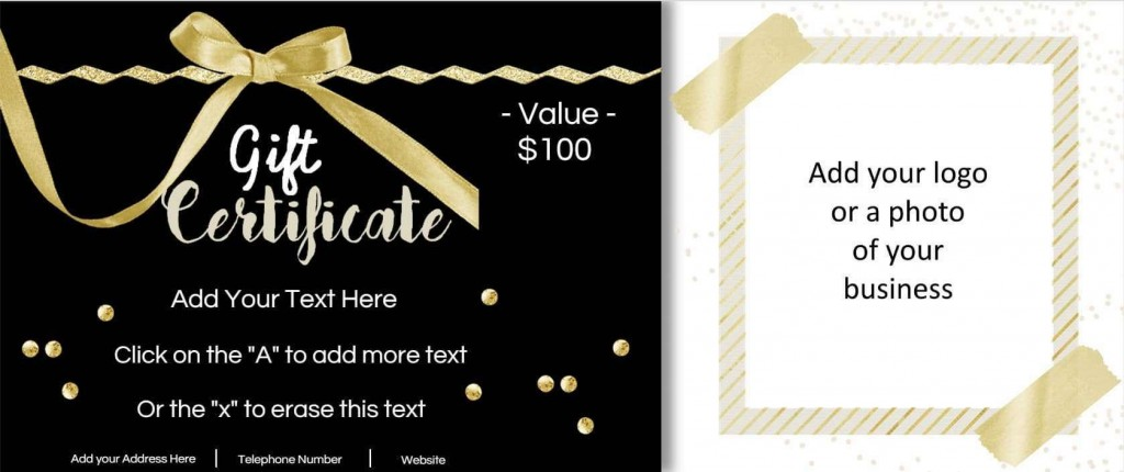 001 Stupendou Free Template For Gift Certificate Image  Printable Birthday Mac In WordLarge