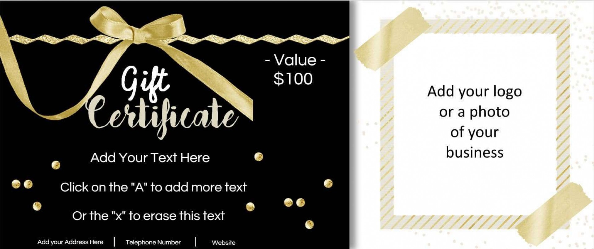 001 Stupendou Free Template For Gift Certificate Image  Printable Birthday Mac In Word1920