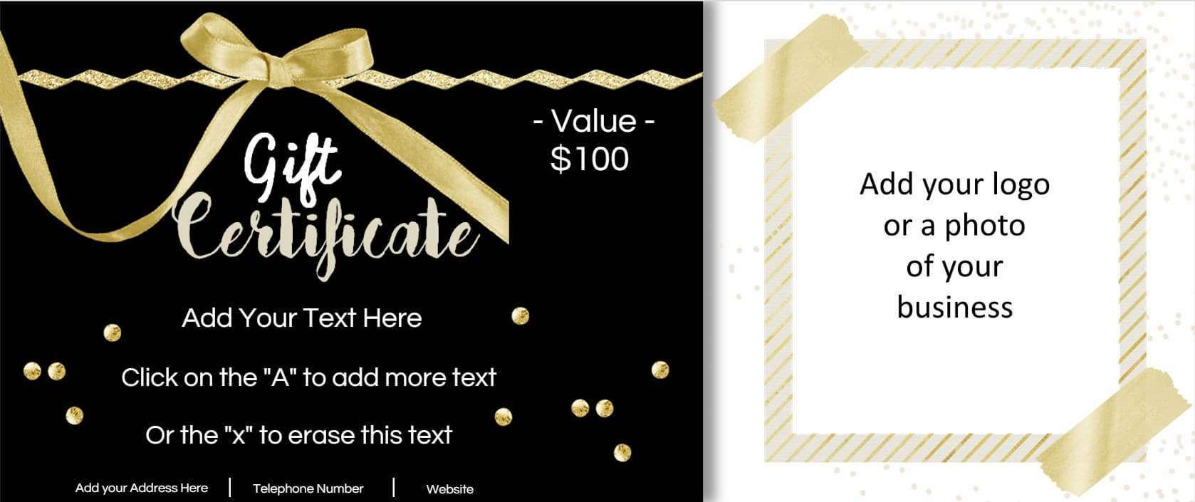 001 Stupendou Free Template For Gift Certificate Image  Printable Birthday Mac In WordFull