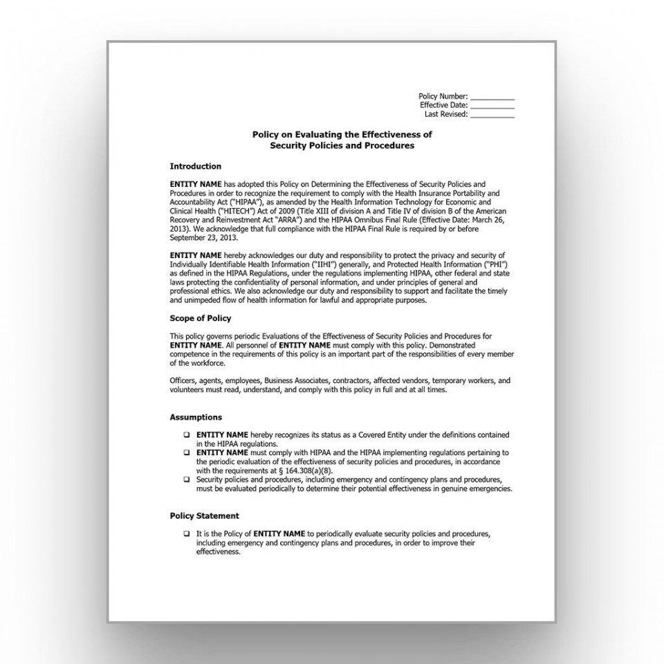 001 Stupendou It Security Policy Template Design  Download Free For Small Busines Pdf960