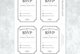 001 Stupendou Microsoft Word Invitation Template 4 Per Page High Def