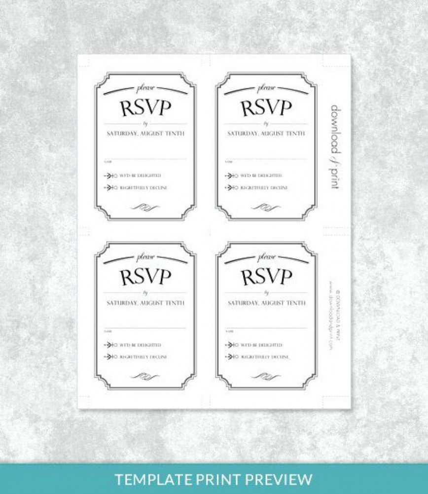 001 Stupendou Microsoft Word Invitation Template 4 Per Page High Def 868