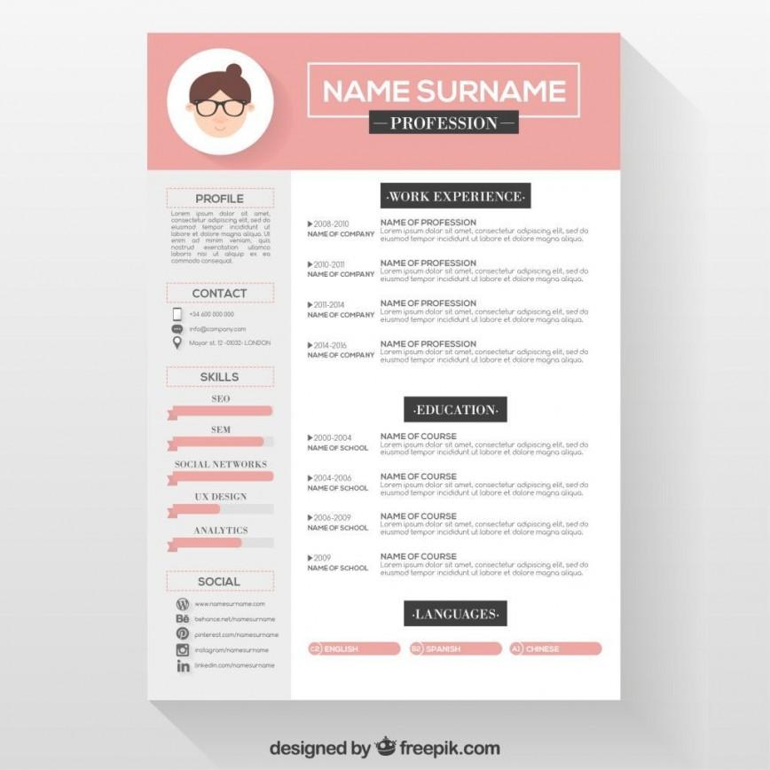 001 Stupendou Photoshop Cv Template Free Download Inspiration  Adobe Resume868