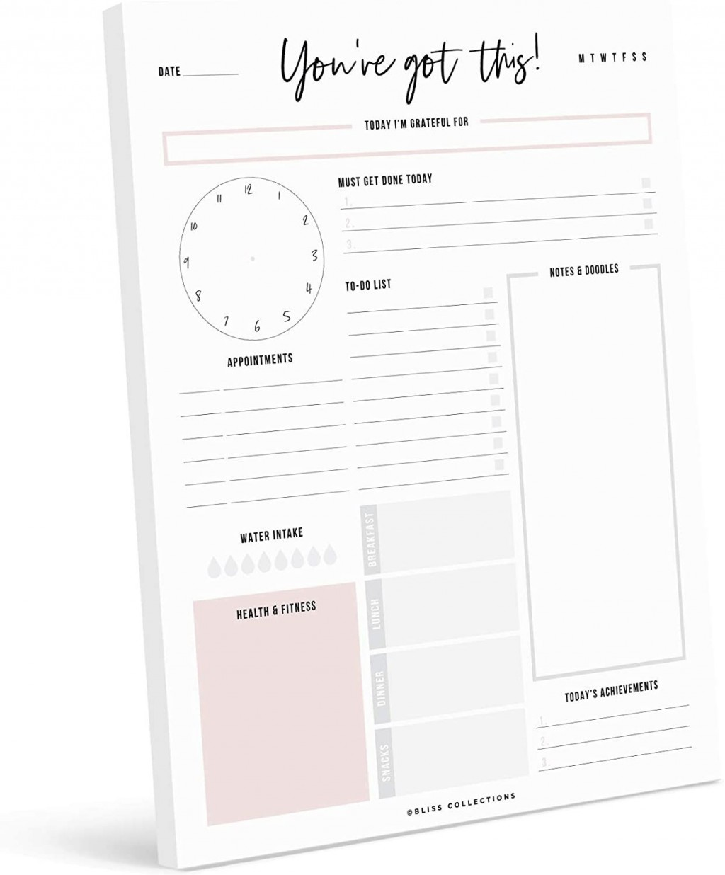 001 Stupendou Real Estate Daily Planner Template Design Large