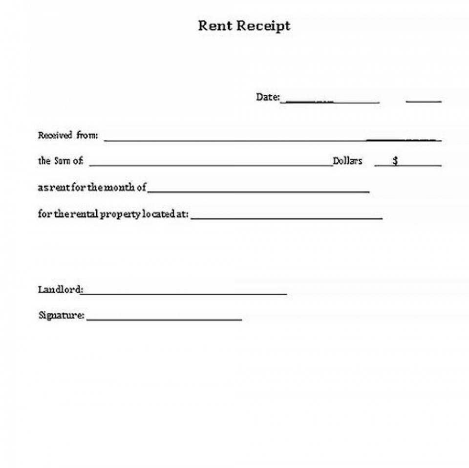 001 Stupendou Rent Receipt Sample Doc Highest Quality  Format Word India Docx Document960