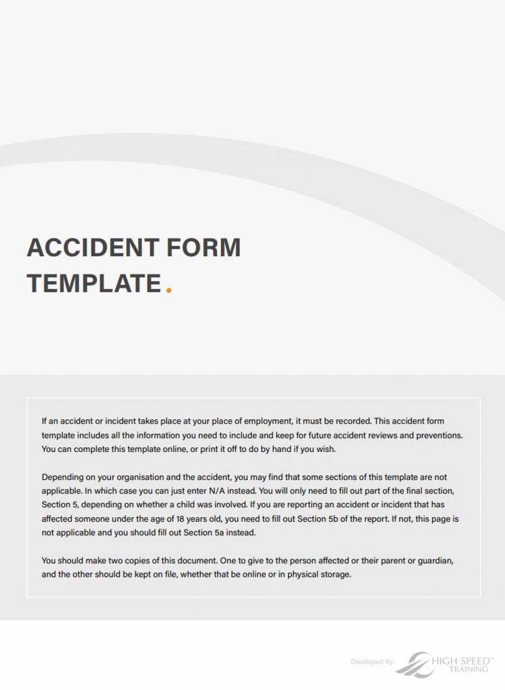 001 Stupendou Workplace Incident Report Template Uk Image Large