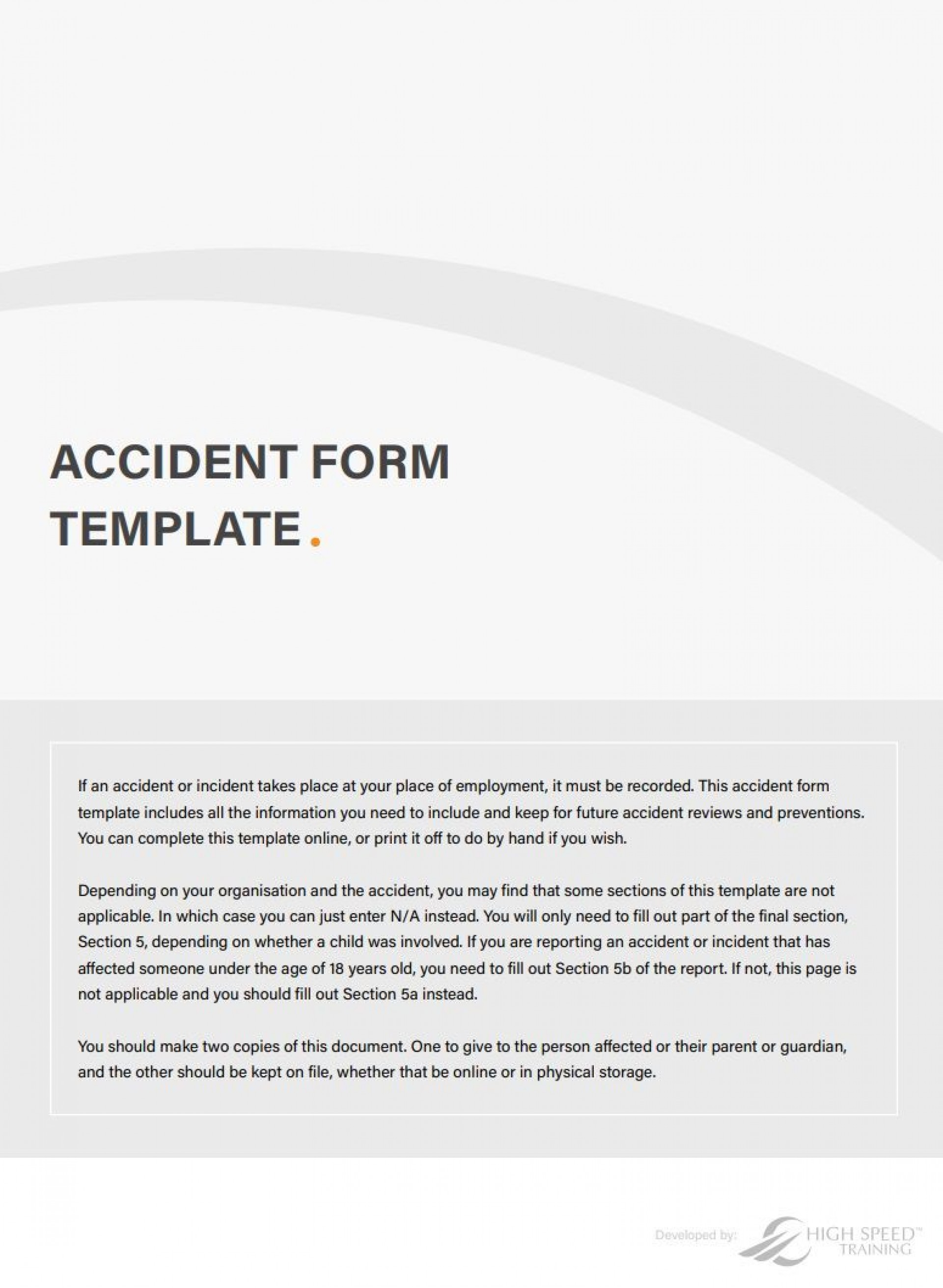 001 Stupendou Workplace Incident Report Template Uk Image 1920