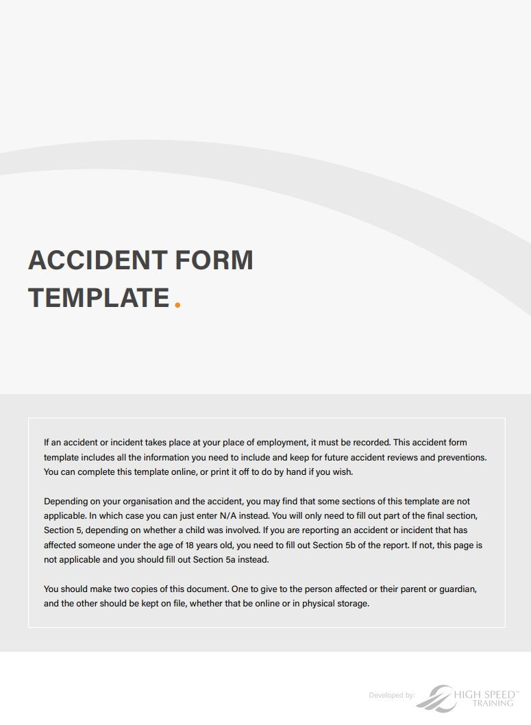 001 Stupendou Workplace Incident Report Template Uk Image Full