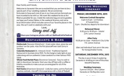 001 Surprising Destination Wedding Welcome Letter Template High Resolution  And Itinerary