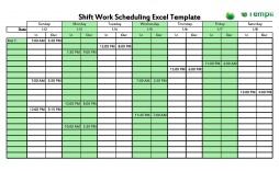 001 Surprising Free 12 Hour Rotating Shift Schedule Template Example
