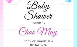 001 Surprising Free Baby Shower Invitation Template Editable High Def  Digital Microsoft Word