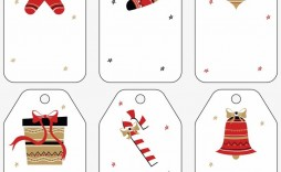 001 Surprising Free Gift Tag Template High Def  Templates Downloadable Christma Printable For Word To Print