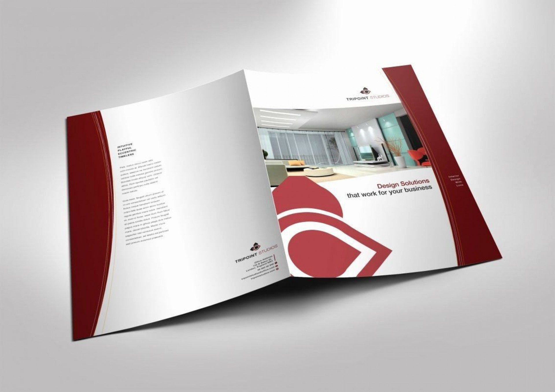 001 Surprising Half Fold Brochure Template High Resolution  Free Microsoft Word Indesign1920
