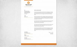 001 Surprising Letterhead Sample In Word Format Free Download Example  Design Template Psd