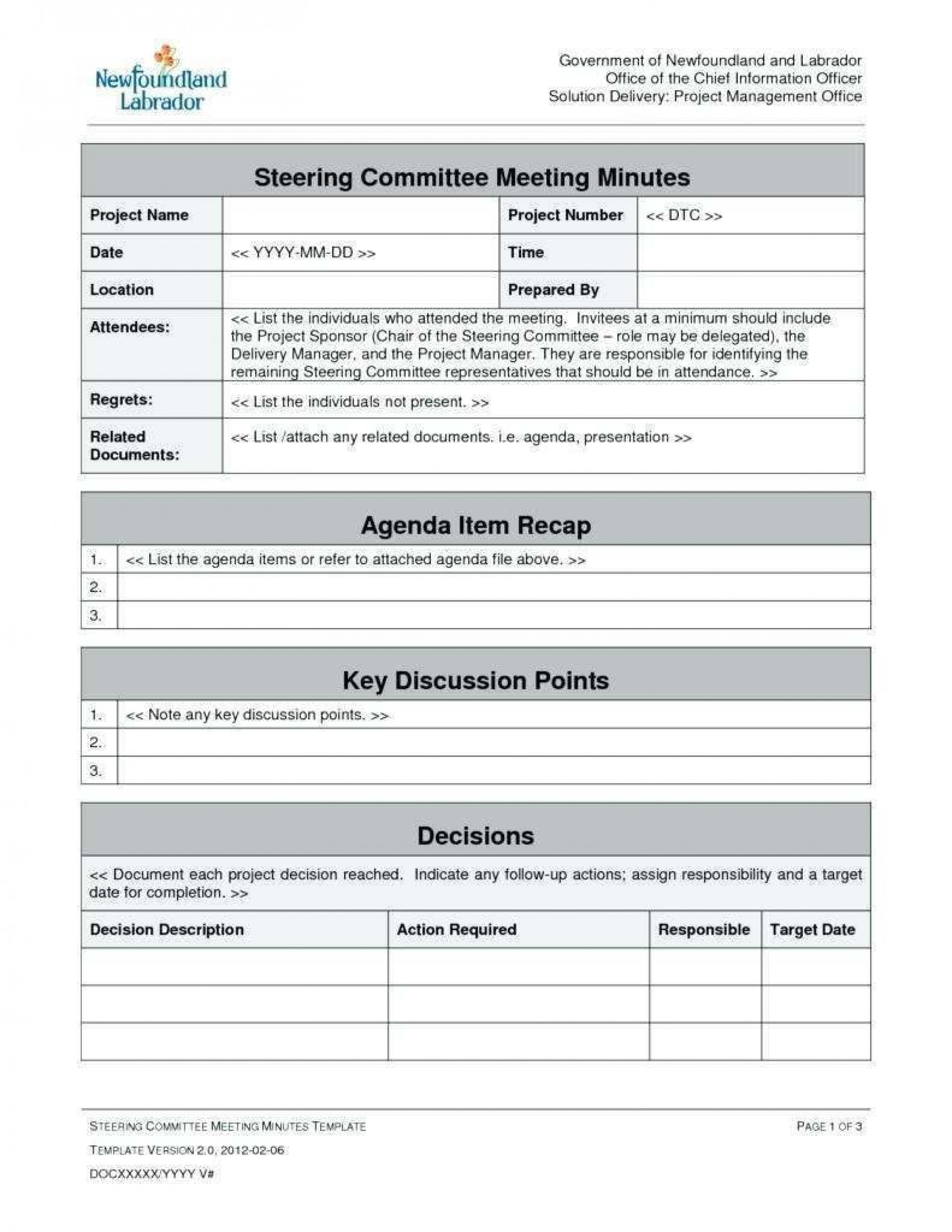 001 Surprising Project Management Kickoff Meeting Template Concept  Ppt1920