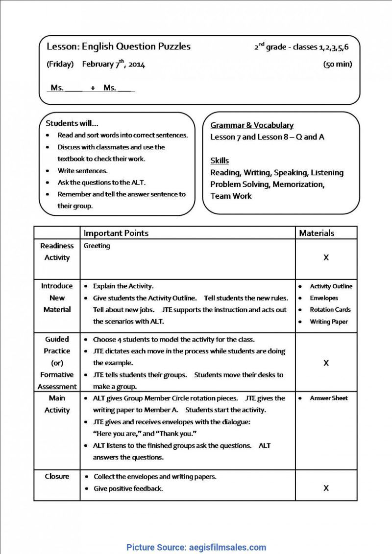 001 Surprising Thematic Unit Lesson Plan Example Highest Quality  TemplateFull